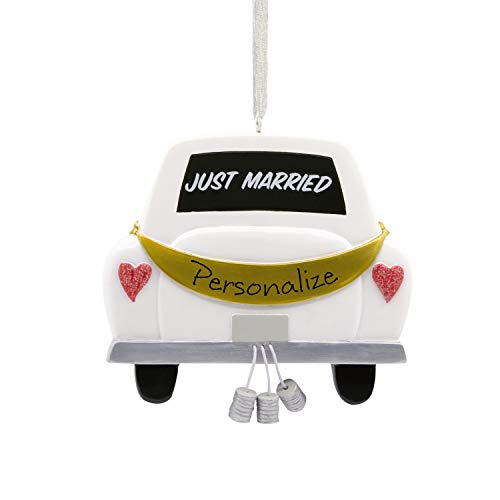 Hallmark Christmas Ornaments, Just Married Personalized Ornament