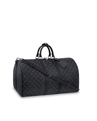 Louis Vuitton Keepall 55 Monogram Eclipse Canvas M40605