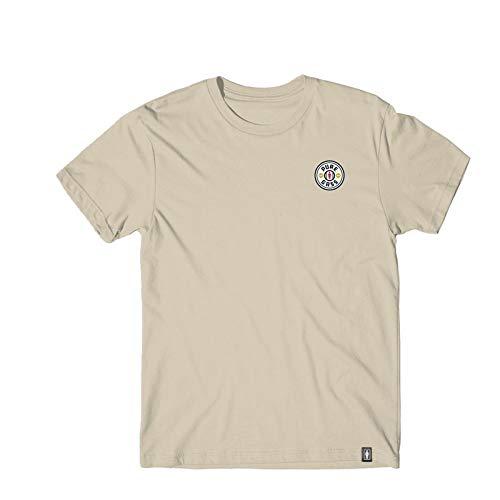 ガール GIRLSKATEBOARD スケボー Tシャツ PURE GASS TEE NO318 (サンド, Lサイズ)