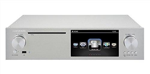 CocktailAudio X50 Audioserver ohne Speicher, Silber; HighEnd Musikserver, CD Ripper, Streamer, Qobuz, Spotify, Deezer, T