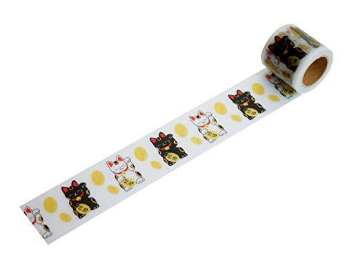 小屋女子DIY 養生テープ まねき猫 YJW-09