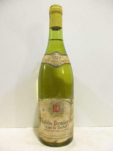chablis jean-jack fourrey premier cru côte de léchet (b3) blanc 1979 - bourgogne