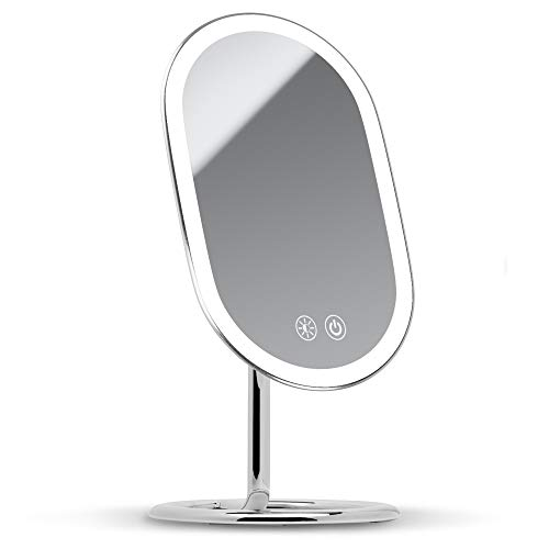 Fancii LED Lighted Vanity Makeup Mirror, Rechargeable - Cordless...