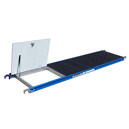 Alumexx BS Platform 250 Light (Carbon Deck) - Extra Licht Gewicht - Carbon - Deck - Platform - Rol - Steiger - Met Klep
