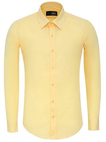 camicia uomo 700 Tazzio G-700 - Camicia da uomo slim fit