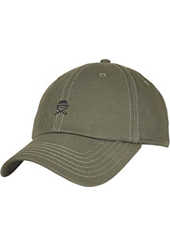 Cayler und Sons Unisex-Adult PA SMALL ICON Curved Olive Black, Size:ONE Size Cap, OLV/blk, Einheitsgröße