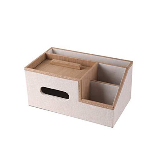 XZJJZ Servilletero para Caja de pañuelos, Caja de pañuelos Creativa, Caja de Almacenamiento Multifuncional, cajón para el hogar