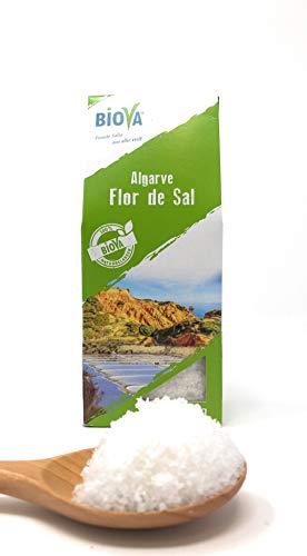 Gourmetsalz Flor de Sal aus der Algarve Portugal 150g BIOVA Gourmet