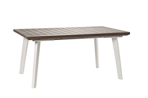 viscio Trading Harmony Table Extensible, Taupe