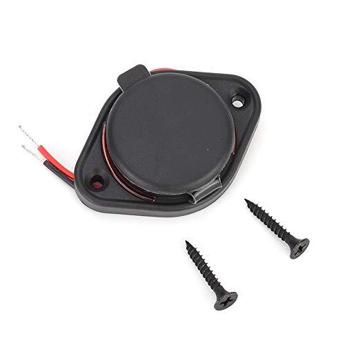 Cargador USB para coche 12-24V 3.1A LED Cargador USB dual Adaptador de toma de corriente Montaje en panel de carga para moto Coche Barco ATV UTV