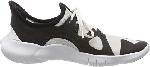 Nike Women's Free Rn 5.0 Running Shoe, White/Black-Black, 5.5 UK