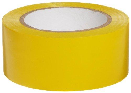 Brady-Y65247 Vinyl Aisle Marking Tape - Yellow, Abrasion Resistant Tape - 2 Width, 36 yards