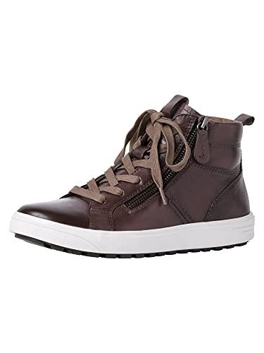 Jana Damen Sneaker 8-8-25202-27 341 braun H-Weite Größe: 39 EU