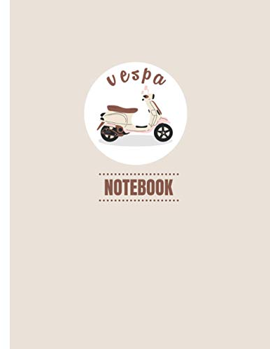 """Vespa Notebook: Daily Journal 