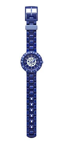 Flik Flak Reloj de pulsera para niño con esfera azul cielo maravilloso ZFCSP063