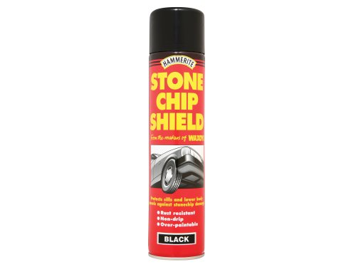 Hammerite 5092832 Stone Chip Shield Black 600ml (Aerosol)