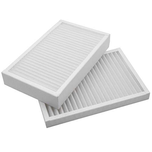 vhbw Filter Set G4 + F7 (Abluftfilter & Zuluftfilter) passend für Viessmann Vitovent 200-C Wohnungslüftungs-System - Ersatz für Feinfiltersatz 7543981