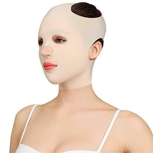 Reutilizable, Transpirable, Antiarrugas, Vendaje Delgado, Máscara Para Dormir Con Estiramiento Facial En V, Máscara Adelgazante Facial, Cinturón Facial De Elevación Transpirable