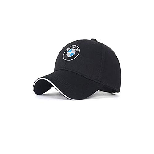Car Sales Logo Embroidered Adjustable Baseball Caps for Men and Women Hat Travel Cap Racing Motor Hat fit Car Accessory (fit BMW)