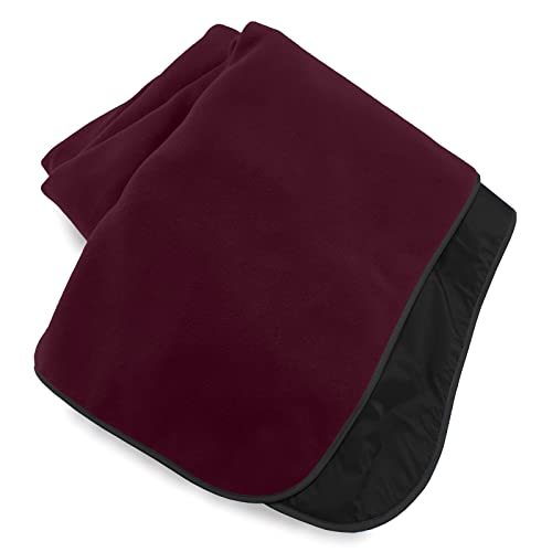 Extreme Weather Outdoor Blanket by Mambe – Burgundy, Large - 100%...