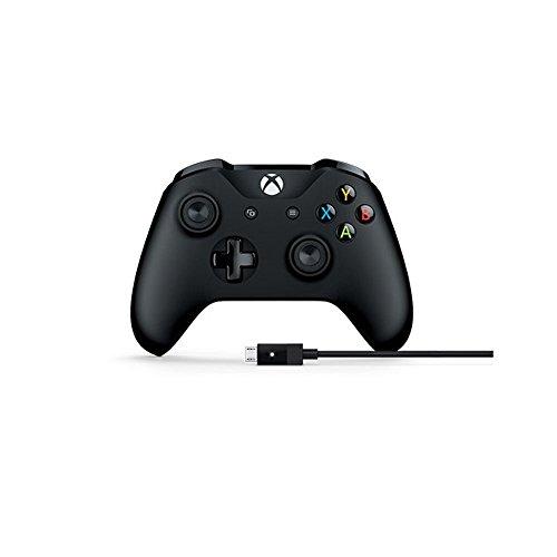 Microsoft Manette Xbox One + Câble pour PC et Xbox