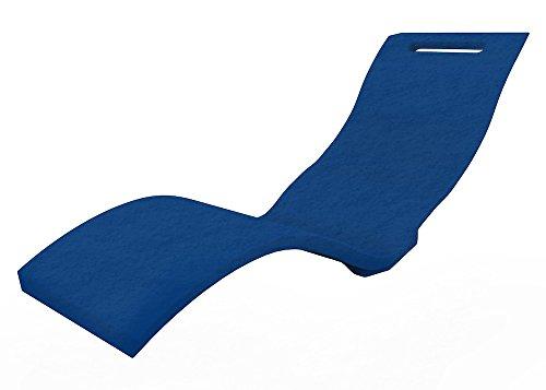 arkema Sdraio per Piscina Chaiselongue Serendipity Blu Polietilene