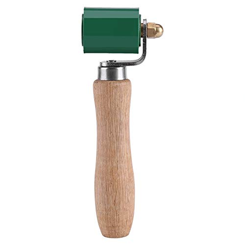 Rodillo de Mano - 40 mm Resistente a Altas Temperaturas de Silicona de la Costura de la Mano del Rodillo de Presión Cubiertas de PVC Soldadura Verde Herramienta
