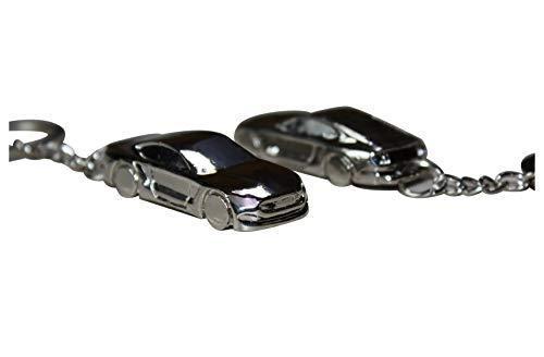 Tollube Porte-clés Mustang Premium modèle Argent