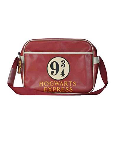 Harry Potter Mochila, Bandolera Platform 9 3 4 Adultos Unisex, marrón, Medium