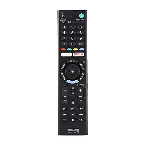 Controlador de TV, controlador de controle remoto Smart TV, conveniente para usar para Sony RMT-TX300P