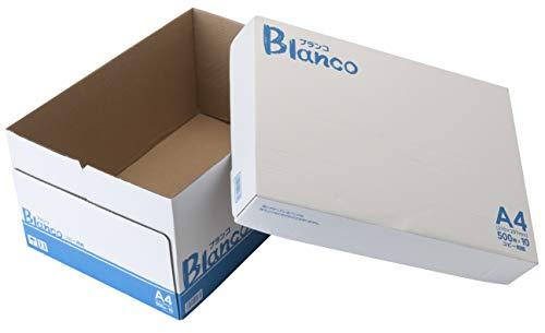 『コピー用紙 A4 ブランコ 高白色 5000枚(500×10)』の3枚目の画像