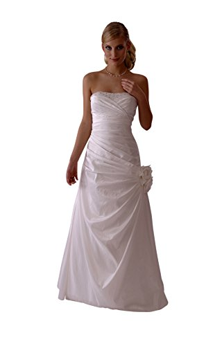 Consuello Brautkleid/Hochzeitskleid/Nina/Satin 38 Creme