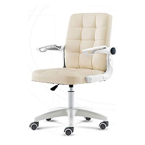 BGY 12 Gitter Bürodrehstuhl, Ergonomischer Heim Bürostuhl Höhenverstellbarer Drehstuhl Hochwertiger Familien Tisch Und -Stuhl Netzstuhl Chefsessel Arbeitsstuhl Laborstuhl Spielstuhl(A)