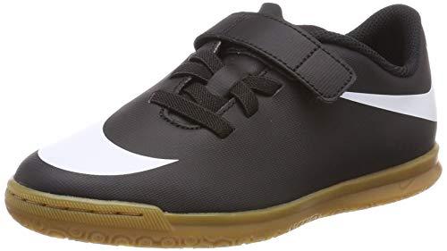 Nike JR Bravata II (V) IC, Zapatillas de fútbol Sala Unisex niños, Negro (Black/White-Black 001), 34 EU