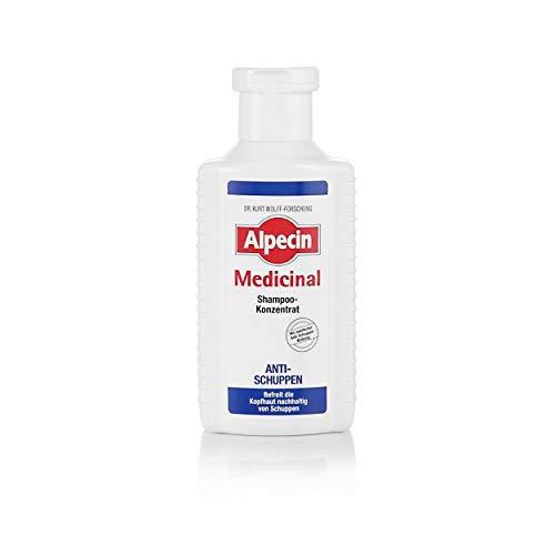 Alpecin Medicinal Forte Shampoo Schuppen Belebende Kopfhaut- und Haarpflege für Männer 6 x 200ml