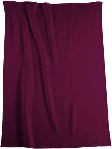 biederlack bocasa 38202 Thermosoft dunkelrot ca. 150 x 200 cm 7prozent Baumwolle 7prozent Polyester 86prozent Dralon