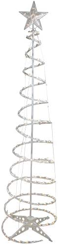Northlight 6 Pre Lit Spiral Christmas Tree Clear Lights product image