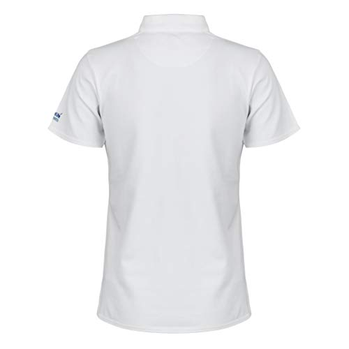 Ryder Cup Glenmuir Women's White Polo T-Shirt (Classic Fit, X-Large)