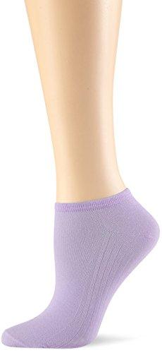 Elbeo Damen Sneaker Light Cotton Füßlinge, Violett (Flieder 9465), 38 (Herstellergröße: 35-38)