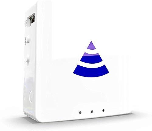 Pyramid WiFi - Router VPN | Plug and Play | Perfecto para IPTV, viajes o casa (pase anual incluido)