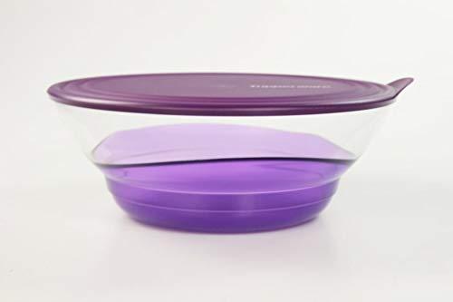 Tupperware Servierschale Eleganzia 3,2 L lila violett Schale Schüssel servieren 35688