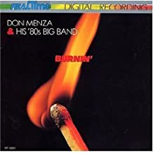 Don Menza & His '80's Big Band : Burnin' (Import)