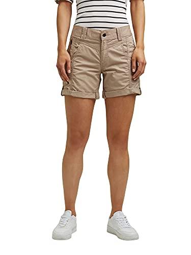 ESPRIT Damen 031EE1C324 Shorts, 270/BEIGE, 38