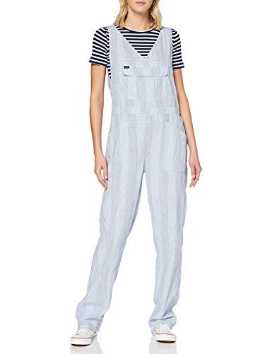 Lee Damen Pipes Jumpsuit Latzhose, Blau (Summer Blue Nj), Small (Herstellergröße: S)