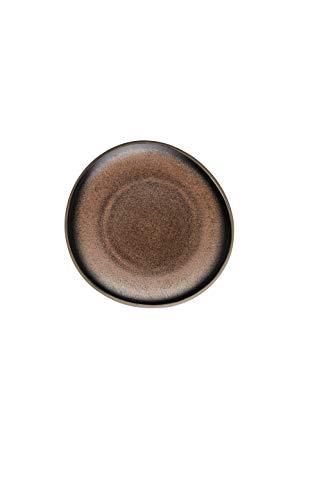 Rosenthal - Junto - Bronze - Teller/Kuchenteller/Dessertteller - flach - Ø 16 cm