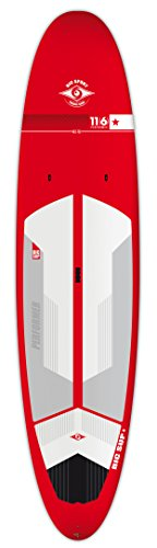 """BIC Sport ACE-TEC Performer Sup Stand Up Paddleboard, Gloss Red/White/Grey, 11'6"""""""