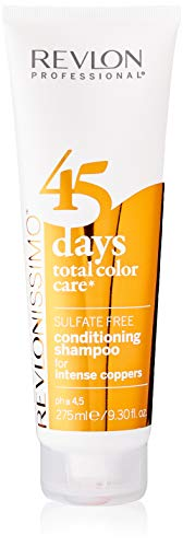 REVLON PROFESSIONAL 45 Days Total Color Care 2-in-1 Shampoo & Conditioner,1er Pack (1 x 275 ml)