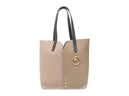 See by Chloe Small Gaia Carry-All Tote Motty Grey One Size