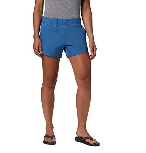 Columbia Chill River Short Chill River™ - Pantaloncini da Donna, Donna, 1895711, Piscina Scura, X-Small x 4
