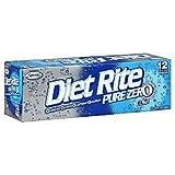 Diet Rite Cola Soda - 12/12 oz (2 pack)